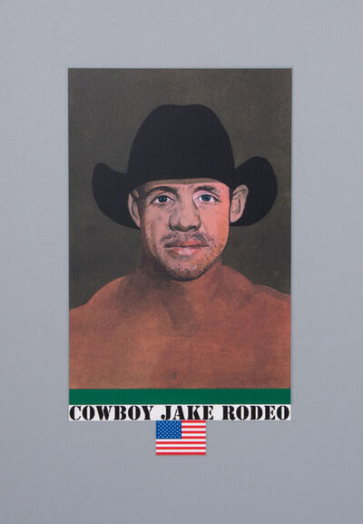 Peter Blake, 'Cowboy Jake Rodeo', 2017