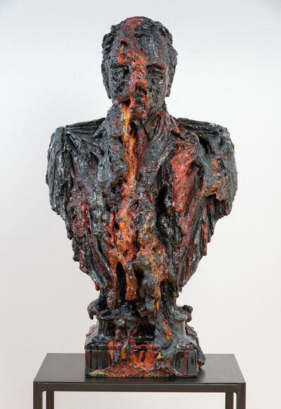 Anne Wenzel, 'Damaged Goods (Bust Large Red  #2)', 2013