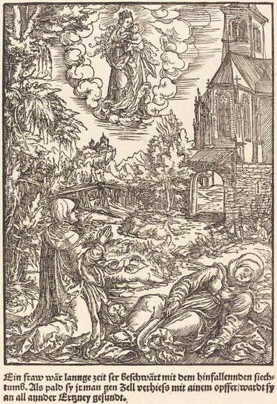 Master of the Miracles of Mariazell, 'Ein Frau war lannge Zeit ...', ca. 1503