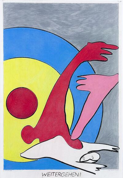 Kurt Hüpfner, 'Weitergehen!', 1967