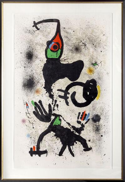 Joan Miró, 'Le Pêcheur d'Éponges (M. 697)', 1971