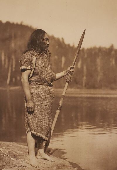 Edward Sheriff Curtis, 'The Whaler-Clayoquot', 1915