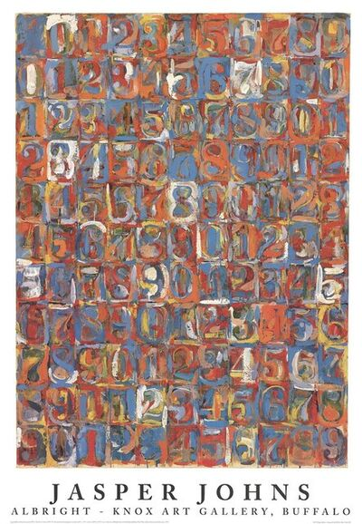 Jasper Johns, 'Numbers in Color', 1976