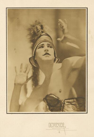 Adolf de Meyer, 'Robert Stowitz, Dancer Diagalev Ballet', 1920