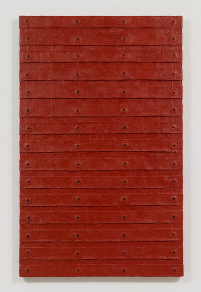 Harmony Hammond, 'Red Stack', 2015