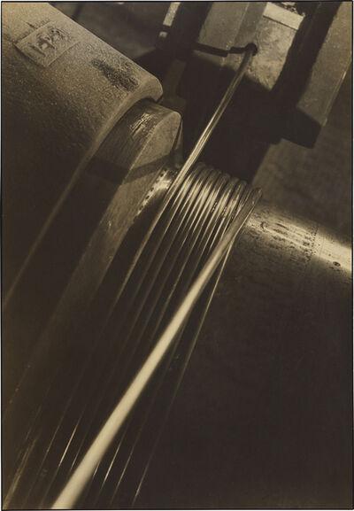Margaret Bourke-White, 'Cable Spool', circa 1930