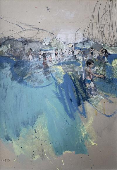 Marta Lafuente, 'Sea crowd', 2019