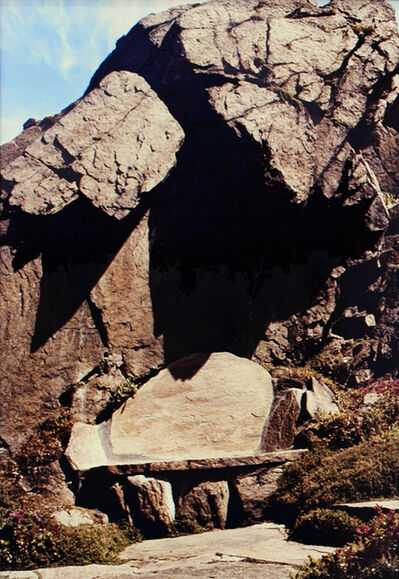 Scott Burton, 'Untitled, (Rock Chair)', ca. 1980