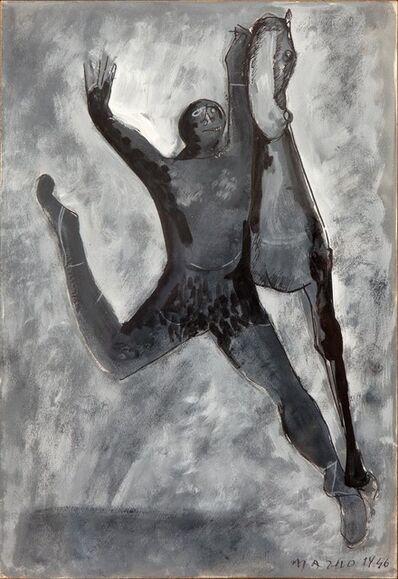 Marino Marini, 'Al circo (At the circus)', 1946