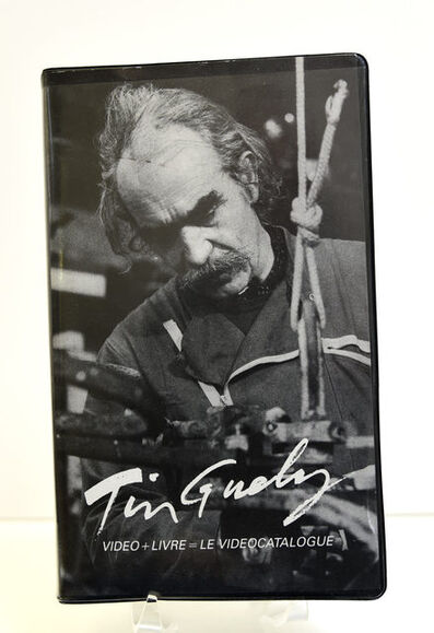 Jean Tinguely, 'Tinguely. Video + Livre. Le videocatalogue', 1988
