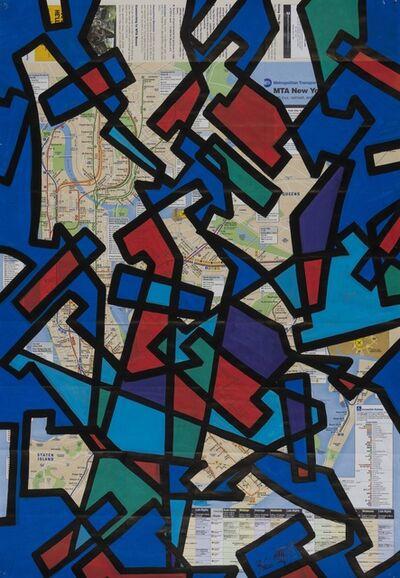 SEEN, 'New York Subway Map', 2007