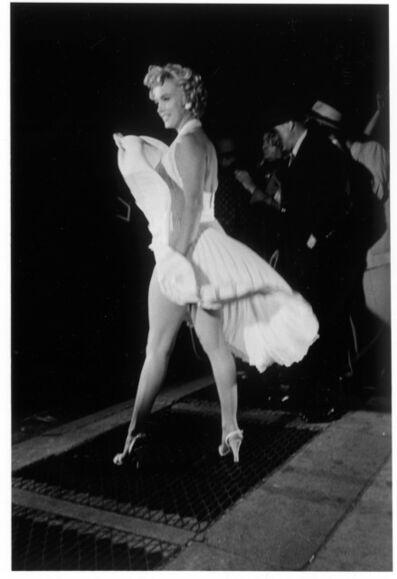"Elliott Erwitt, 'Marilyn Monroe on the set of ""The Seven Year Itch""', 1954"