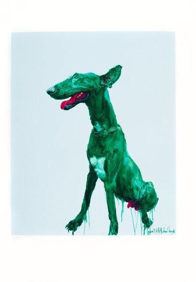 Zhou Chunya 周春芽, 'Green Dog', 2008