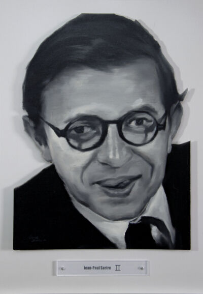Yao Peng 姚朋, 'Nothing Better - Jean-Paul Sartre', 2015