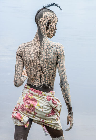 Carol Beckwith and Angela Fisher, 'Kara Man Painted for Courtship, Omo Valley, Ethiopia ', 2013