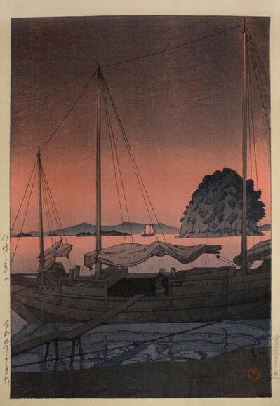 Kawase Hasui, 'Hayama in Iyo', 1934