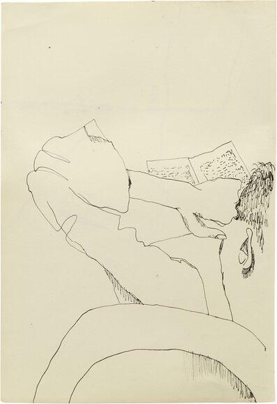 Lucian Freud, 'Man Reading', 1940
