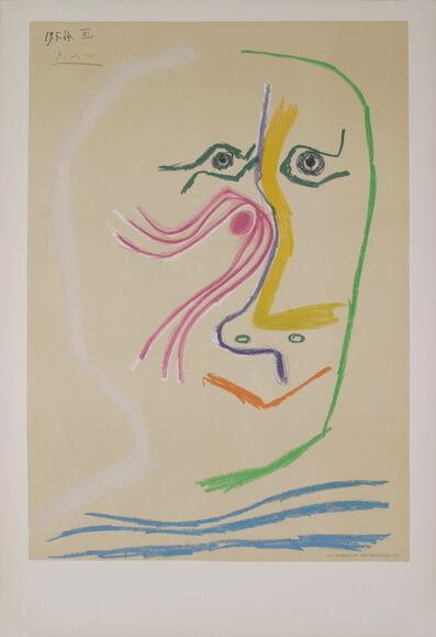 Pablo Picasso, 'Homage a Rene Char - avant lettre', 1969