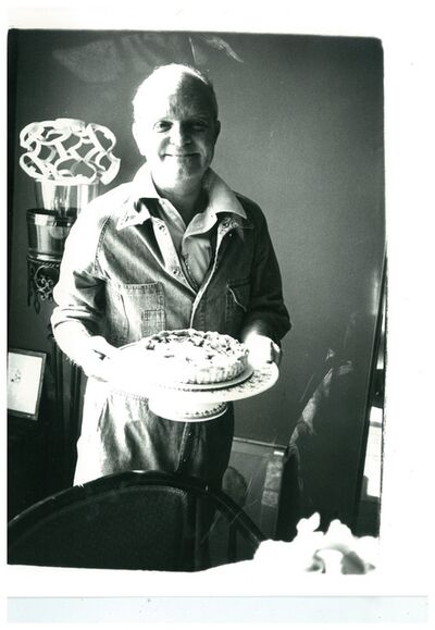 "Andy Warhol, 'Truman Capote (with the birthday cake ""he made"")', ca. 1980"