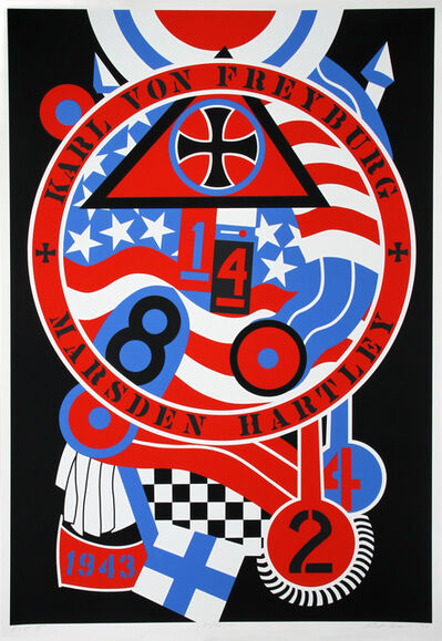 Robert Indiana, 'The Hartley Elegies: The Berlin Series - KvF II', 1990