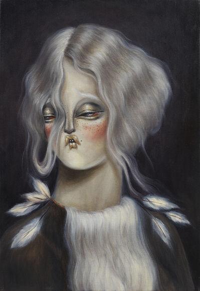 Miss Van, 'Pale Moonlight Muse III', 2020