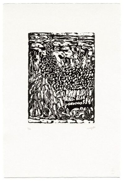 Jean-Paul Riopelle, 'Un Promeneur (4)', 1988-1990
