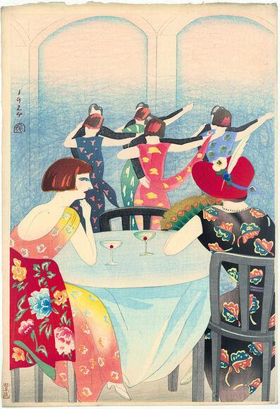 Yamamura Kōka, 'Dancing at the New Carlton Hotel in Shanghai', 1924