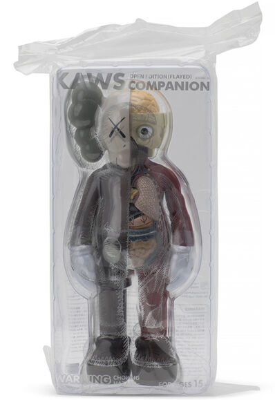 KAWS, 'Companion Flayed (Brown)', 2016