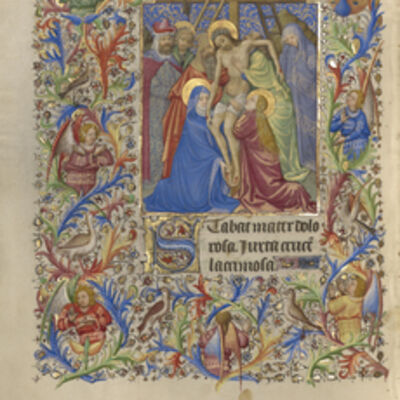 Spitz Master, 'The Deposition', 1420