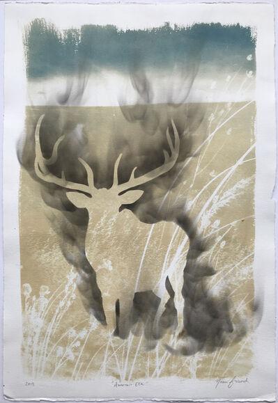 Naomi Friend, 'Smoke and Chaff: American Elk', 2019