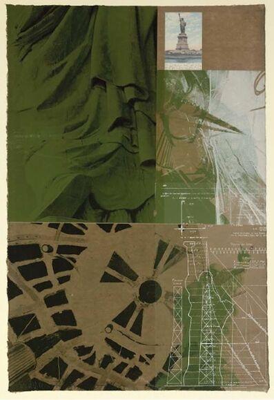Robert Rauschenberg, 'Statue of Liberty', 1983