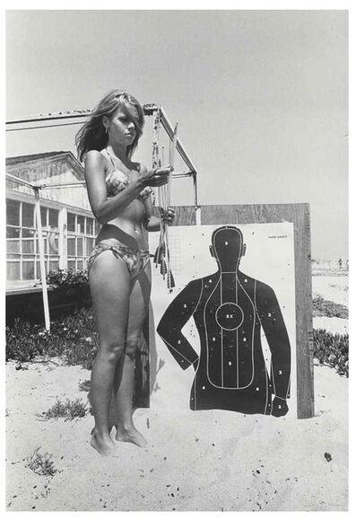 Dennis Hopper, 'Jane Fonda (with target)', 1965