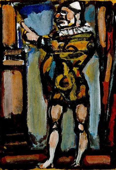 Georges Rouault, 'Vollard As A Clown', 1939