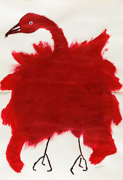Selene Perez, 'Untitled (Red Bird)', 2018