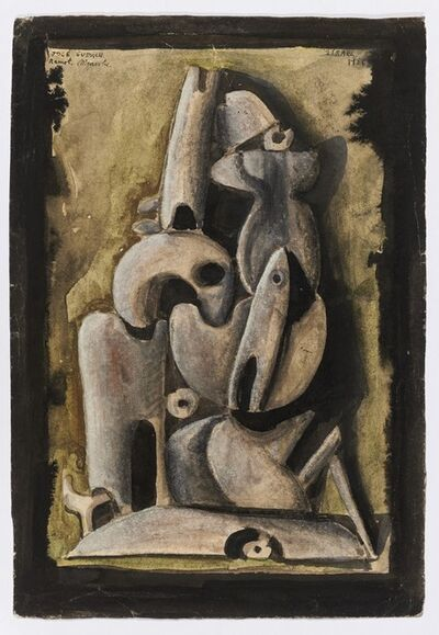 José Gurvich, 'Untitled (Ramot Menasche)', 1956