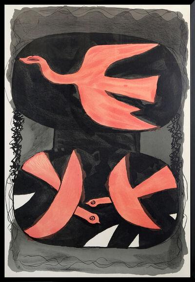 Georges Braque, 'Three Birds', ca. 1960