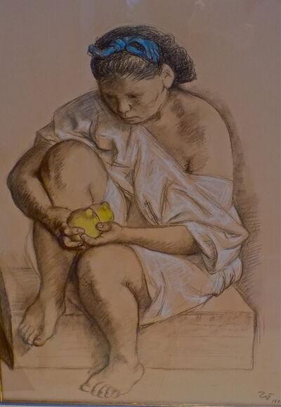 Francisco Zúñiga, 'Joven con Limones', 1982