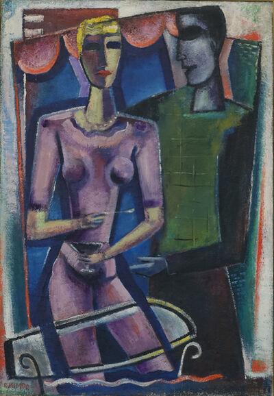 "Reimond Kimpe, '""de ontmoeting""', ca. 1956"