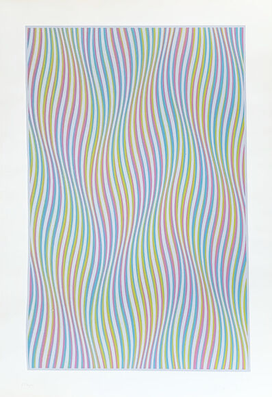Bridget Riley, 'Elapse, 1982', 1982