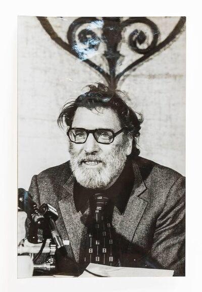 Fred W. McDarrah, 'Burt Lancaster, Vintage 1973 Silver Gelatin Signed Photograph', 1970-1979