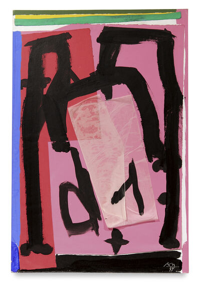 Robert Motherwell, 'Mexican Collage', 1979