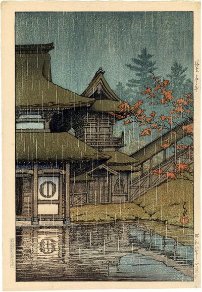 Kawase Hasui, 'The Yama Temple, Sendai', 1933