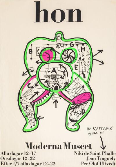 Niki de Saint Phalle, 'Hon: Moderna Museet', 1966