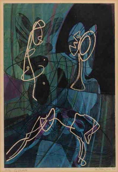Stanley William Hayter, 'La lecon d'anatomie', 1954