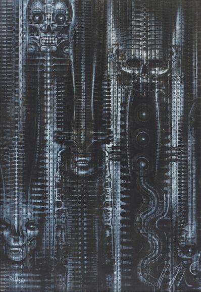 H. R. Giger, 'New York City', 1982