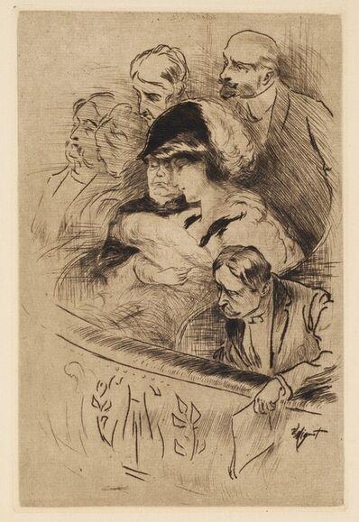 Victor Mignot, 'Spectators', 20th century