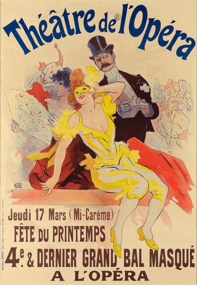 Jules Chéret, 'THÉATRE DE L'OPÉRA', 1896