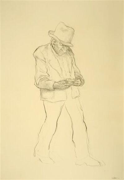 Pat Oliphant, 'Man Rolling a Cigarette', 2012