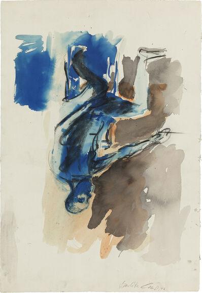 Georg Baselitz, 'Sitzender Akt', 1976