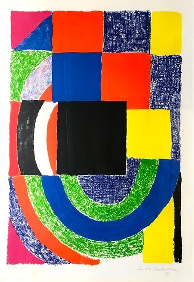Sonia Delaunay, 'Composition', 1969